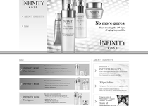 Infinity official website