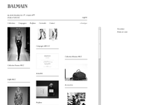 Balmain official website