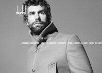 Dunhill official website