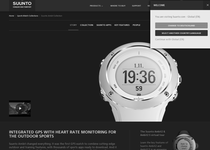 Suunto official website