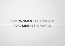 TWO MEN IN THE WORLD official website