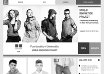 Uniqlo official website