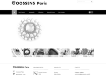 Goossens Paris official website