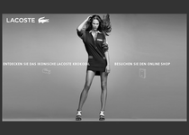Lacoste official website