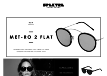 Spektre Sunglasses official website