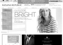 Banana Republic official website