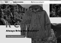 Patagonia official website