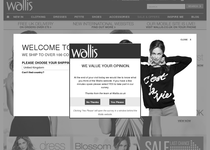 Wallis official website
