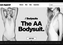 American Apparel official website