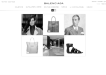 Balenciaga official website