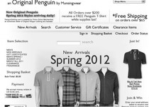 Original Penguin official website