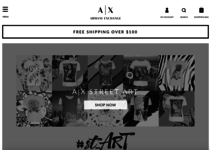 Armani Exchange official website