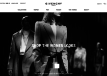 Givenchy official website