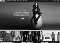 Diesel official website