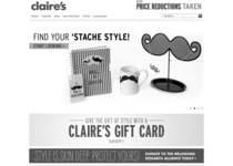Claire's official website