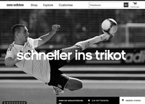 Adidas official website