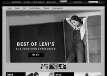 Levi's official website