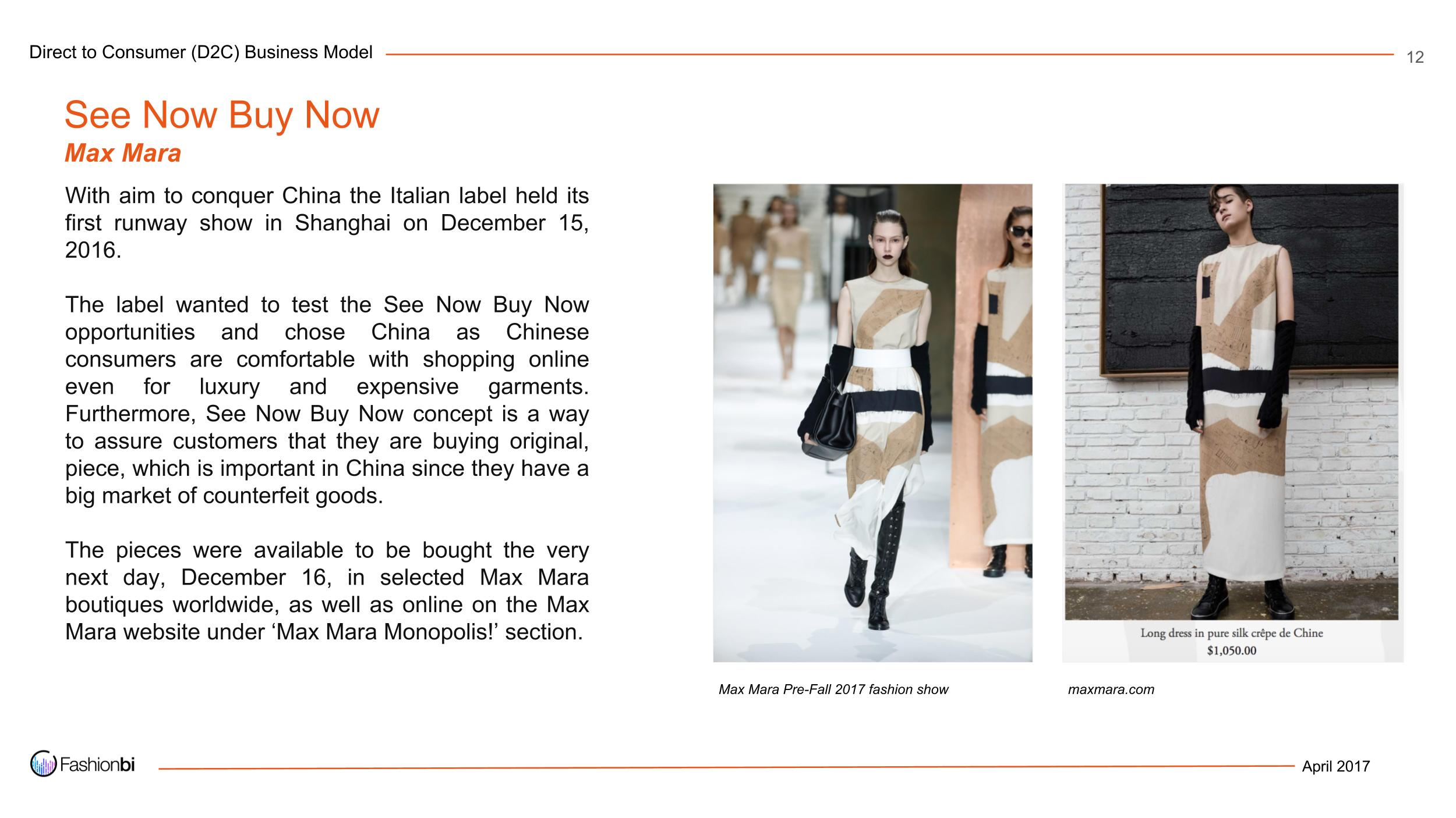 Mr 56 real time fashion and direct to consumer business model  2