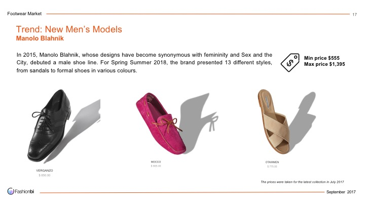 4fashionbi the footwear market and product trends