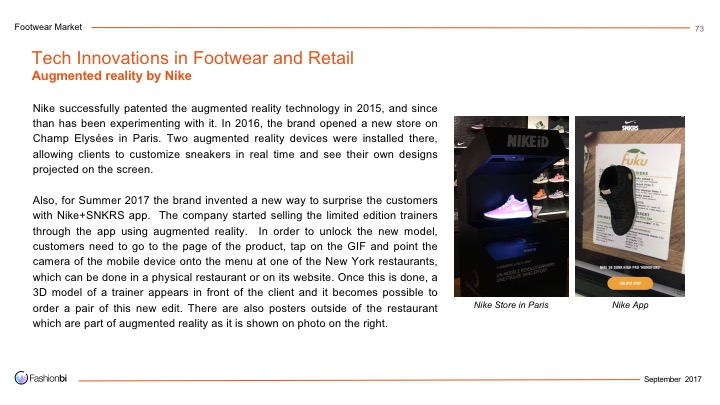 7fashionbi the footwear market and product trends